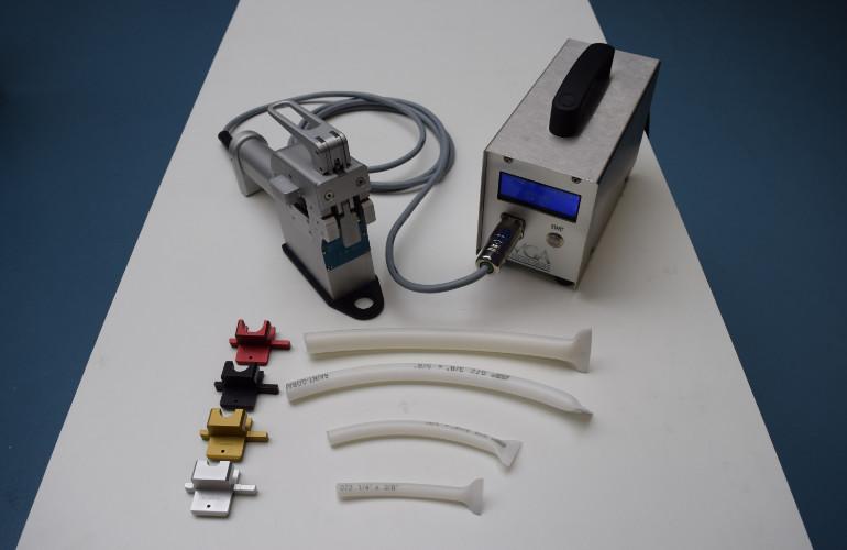 Soudeuse de tubes en élastomère thermoplastique TPE