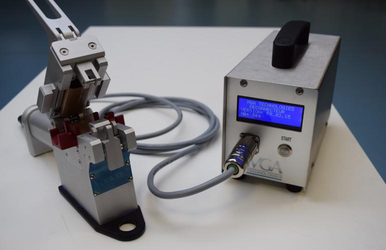 Soudeuse de tubes en TPE - Déconnecteur stérile pour tubulures et flexibles