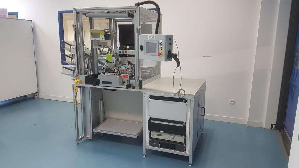 Automatisation de banc de test électronique