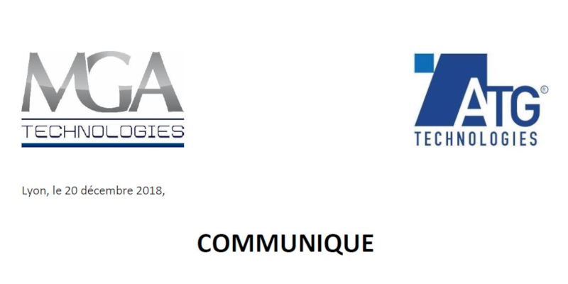 MGA Technologies fait l'acquisition d'ATG Technologies