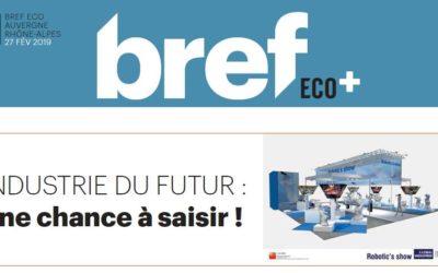 Industrie du futur et l'édition 2019 du salon Global Industrie à Lyon