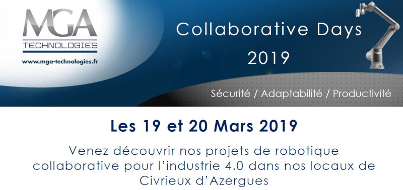 MGA Collaborative Days – 19 et 20 mars 2019