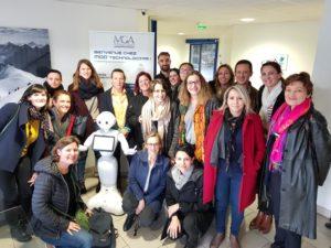 Visite des étudiants en Master RH de l'IAE Lyon 3