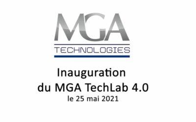 Retour sur l'inauguration à Civrieux d'Azergues de notre nouveau MGA TechLab 4.0