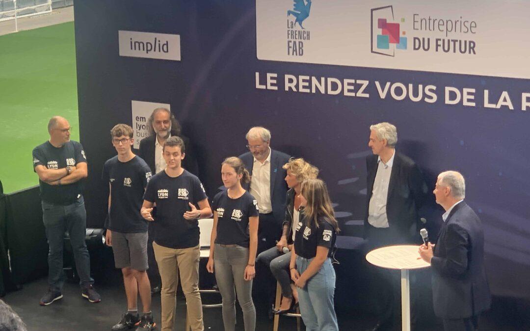 Robo'Lyon gagne le « GLOBAL INNOVATION CHALLENGE » de la FIRST Robotics Competition