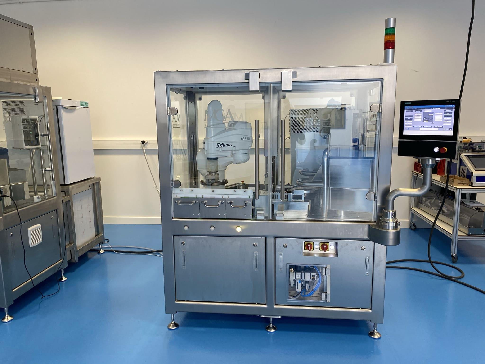 Machine de répartition pour tubes de diagnostics - Vue d'ensemble